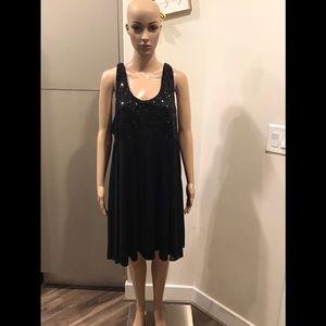GLAMOROUS APT 9 Sequin Tank Little black Dress